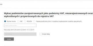 Wyszków VAT skarbowy