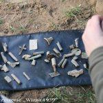 Elementy znalezione po samolocie
