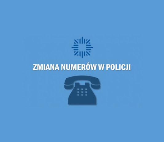 Policja Wyszków zmiana numerów telefonów